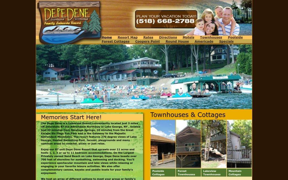The Depe Dene Resort, Lake George, NY (Adirondacks Region of